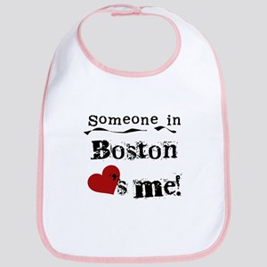 Boston Loves Me Bib