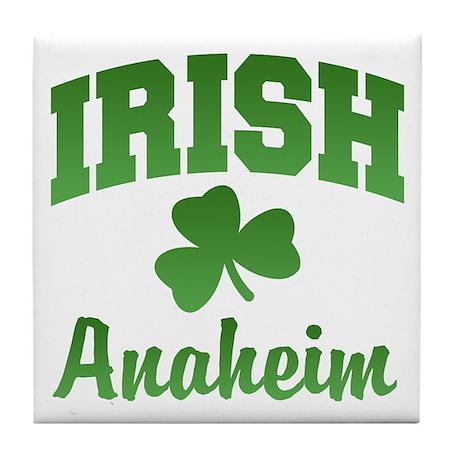 Anaheim Irish Tile Coaster