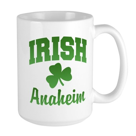 Anaheim Irish Large Mug