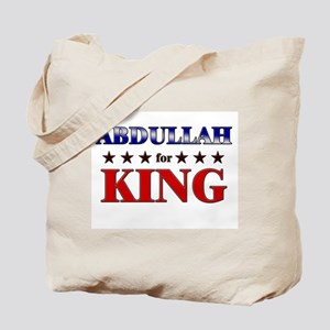 ABDULLAH for king Tote Bag