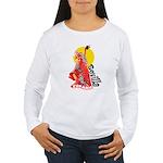 Flamenco Women's Long Sleeve T-Shirt
