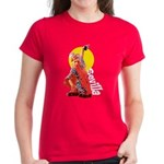 Flamenco Women's Red or Lavender T-Shirt