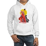 Flamenco Hooded Sweatshirt