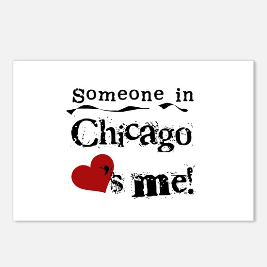 Chicago Loves Me Postcards (Package of 8)