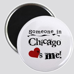 Chicago Loves Me Magnet