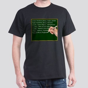 Muscle Chalk Board Dark T-Shirt