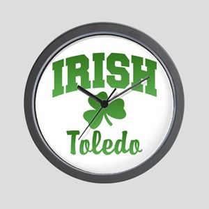 Toledo Irish Wall Clock