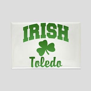 Toledo Irish Rectangle Magnet