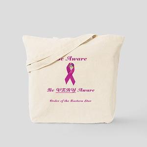 The OES Pink BC Ribbon Tote Bag