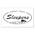 Sleepers Rectangle Sticker