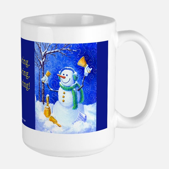 HANDBELL SNOWMAN Mugs