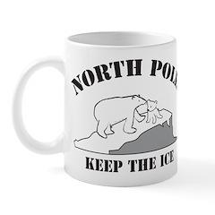 Earth Day : Save the North Pole Mug