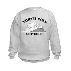 Earth Day : Save the North Pole Sweatshirt