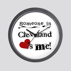 Cleveland Loves Me Wall Clock