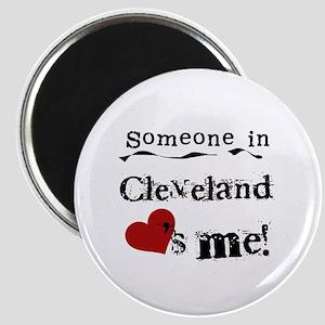 Cleveland Loves Me Magnet