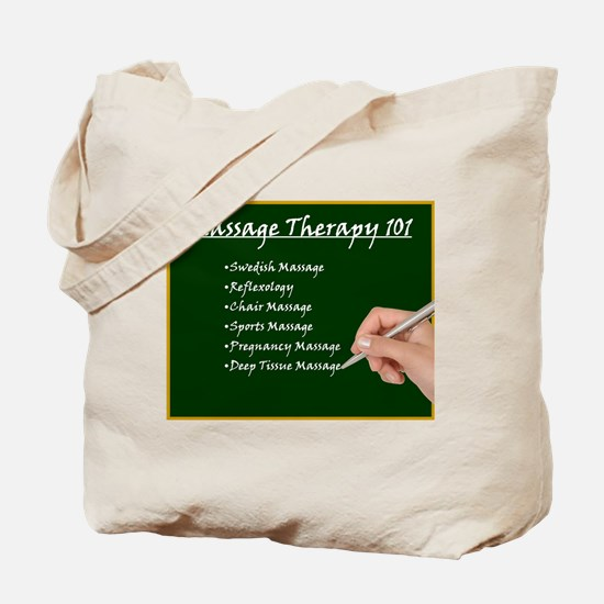 Massage Therapy 101 Tote Bag