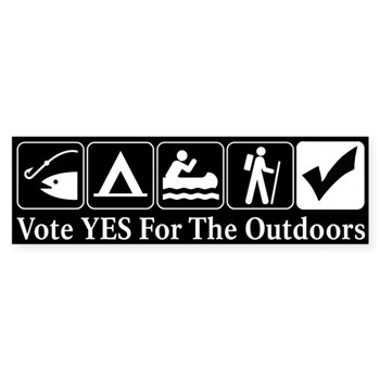Vote YES For The Outdoors