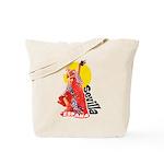 Seville Flamenco Tote Bag