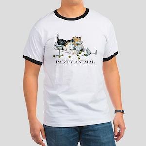 Fox Terrier Party Animal Ringer T