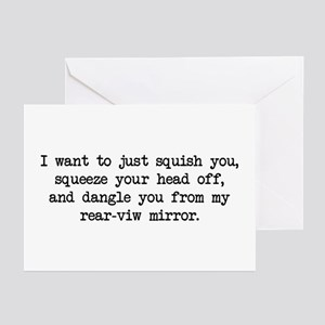 Paula Wants to Squish You Greeting Cards (Pk of 10
