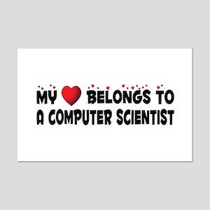 Belongs To A Computer Scientist Mini Poster Print