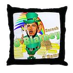 Barack O'Blarney anti-Obama Throw Pillow