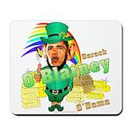 Barack O'Blarney anti-Obama Mousepad