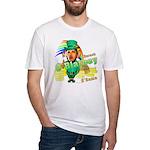 Barack O'Blarney anti-Obama Fitted T-Shirt