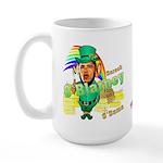 Barack O'Blarney anti-Obama Large Mug