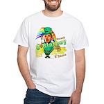 Barack O'Blarney anti-Obama White T-Shirt