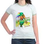 Barack O'Blarney anti-Obama Jr. Ringer T-Shirt