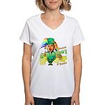 Barack O'Blarney anti-Obama Women's V-Neck T-Shirt