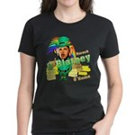 Barack O'Blarney anti-Obama Women's Dark T-Shirt