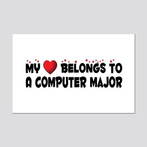 Belongs To A Computer Major Mini Poster Print