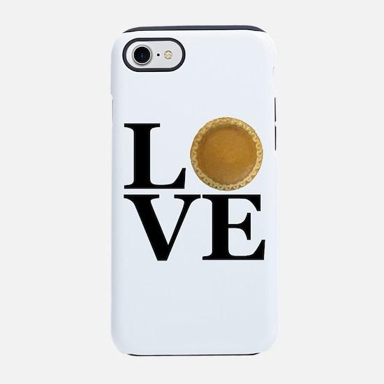 LOVE Pumpkin Pie iPhone 8/7 Tough Case