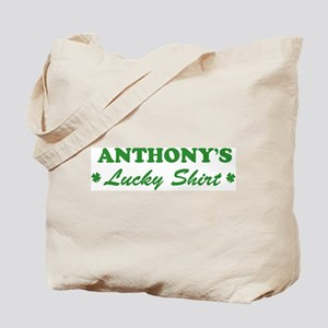 ANTHONY - lucky shirt Tote Bag