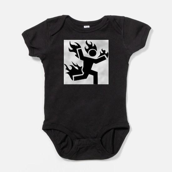 Man on Fire Infant Bodysuit Body Suit