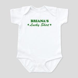 BRIANA - lucky shirt Infant Bodysuit