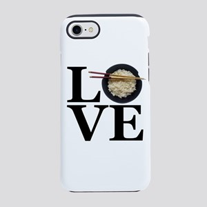 LOVE Rice iPhone 8/7 Tough Case