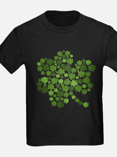 Irish Shamrocks in a Shamrock T
