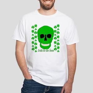 Irish To The Bone White T-Shirt
