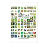 PBAA Goes Green! postcards