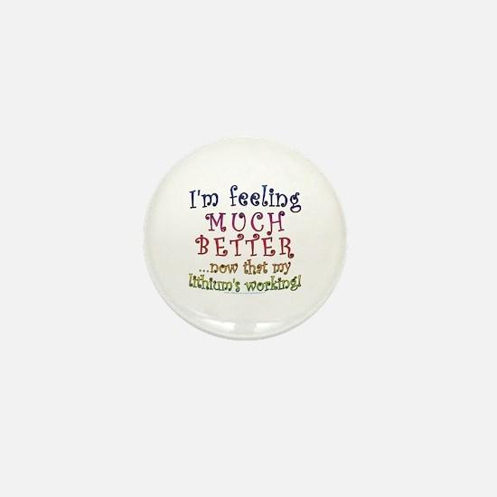 Funny Lithium Joke Mini Button