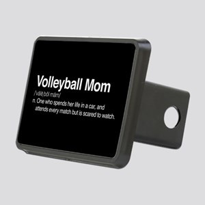 Volleyball Mom Rectangular Hitch Cover