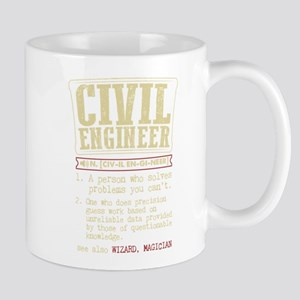 Civil Engineer Funny Dictionary Term Mugs