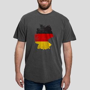 German Map Flag Mens Comfort Colors Shirt