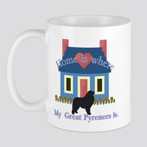 Home Is Great Pyrenees Mug