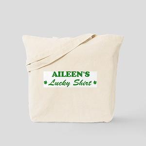 AILEEN - lucky shirt Tote Bag
