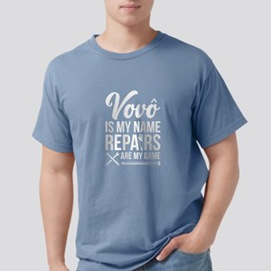 Vovo Is My Name Repairs Are My Game T-Shirt
