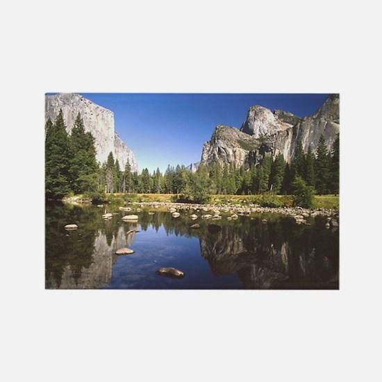 Yosemite Rectangle Magnet
